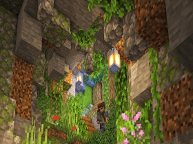 caves and cliffs update for minecraft pe