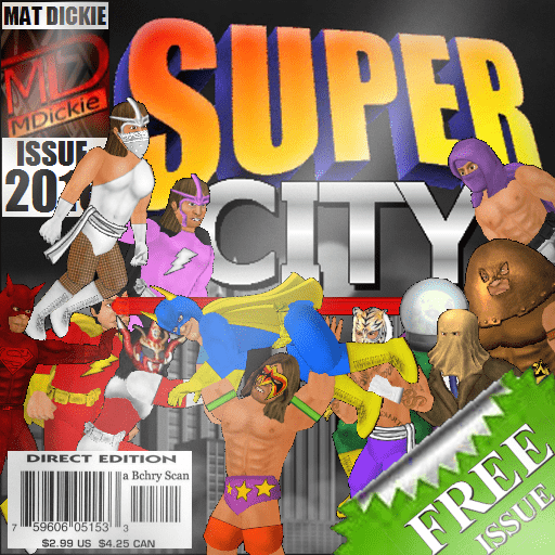 Download Super City (Superhero Sim) 1.212 APK
